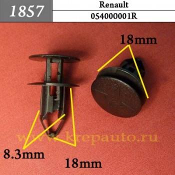 054000001R - Автокрепеж для Renault