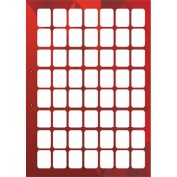 stendbookredodnostdvust - Красный лист книги для автокрепежа двусторонний