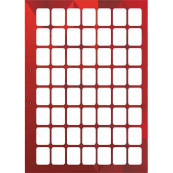 stendbookredodnost - Красный лист книги для автокрепежа односторонний